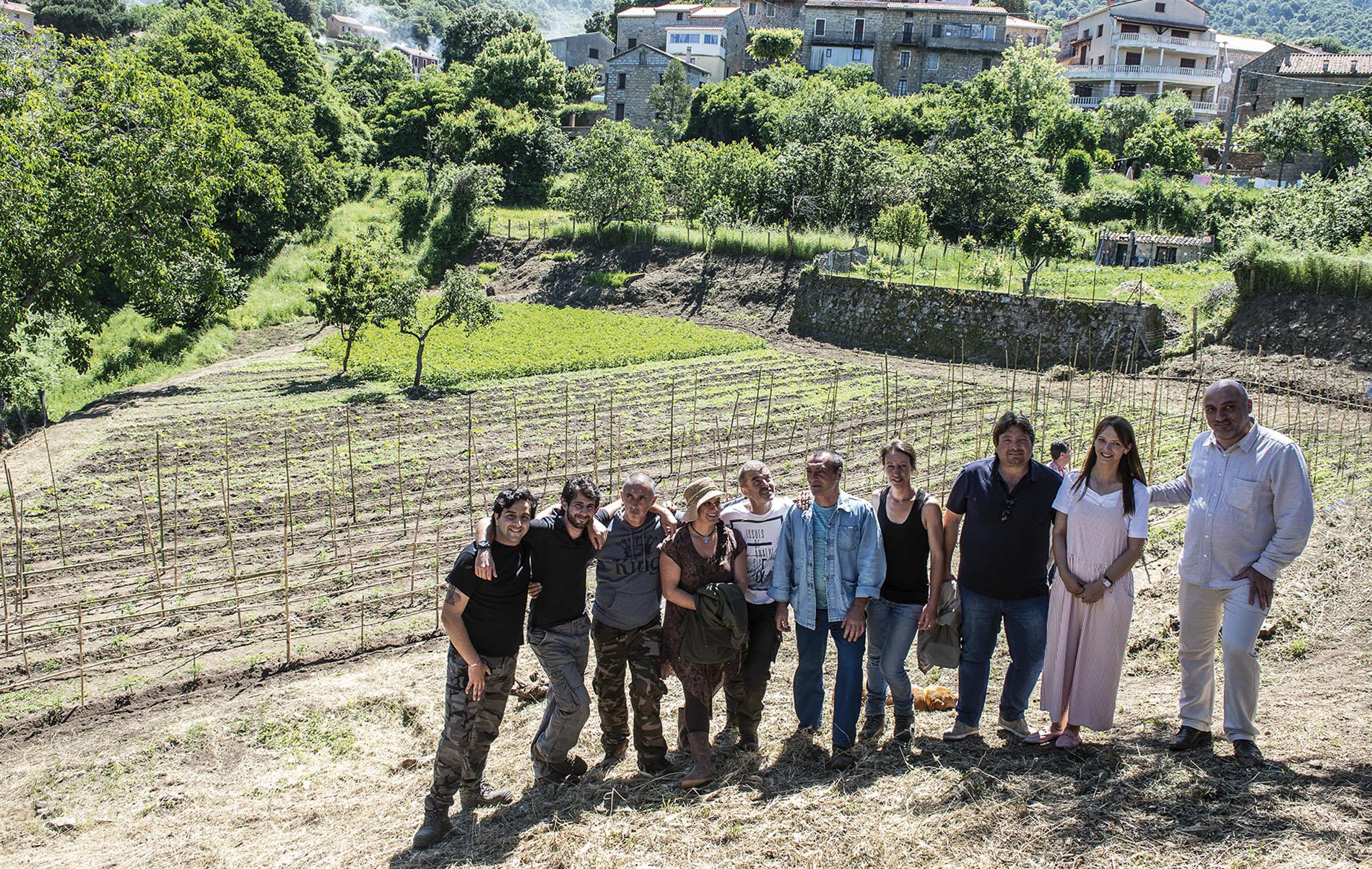 Les Jardins solidaires d'Argiusta-Moriccio