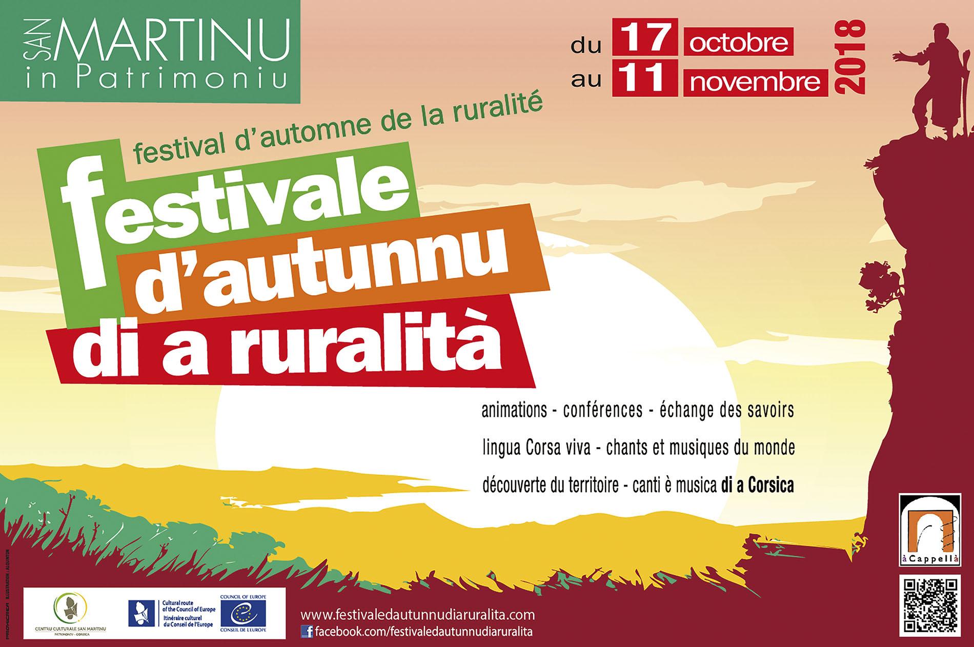 U FESTIVALE D'AUTUNNU DI A RURALITÀ 2018